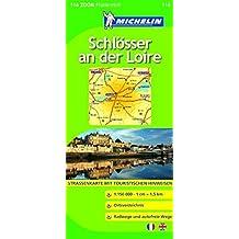 Schlösser an der Loire (Michelin Zoomkarte)