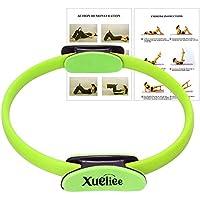Xueliee Pilates Ring »Yoga Ring»Loop«für effektive Piltates-Übungen und gezieltes Kräftigungstraining der Oberkörper-, Arm- und Beinmuskulatur