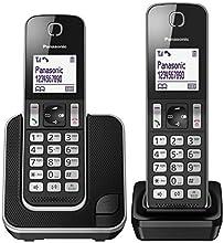 Panasonic KX-TGD312 - Telephones (DECT telephone, Speakerphone, 120 entries, Caller ID, Black, Silver)