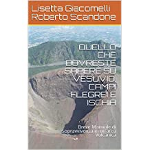 QUELLO CHE DOVRESTE SAPERE SU VESUVIO, CAMPI FLEGREI E ISCHIA: Breve Manuale di Sopravvivenza in un'area Vulcanica (Italian Edition)