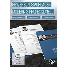 Bewerbungsvorlagen - modern, kreativ und professionell