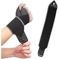 Handgelenk Kompression Wraps, KIROLAK Gym Weight Lifting Bodybuilding Workout Crossfit Handgelenkstütze Einstellbare... preisvergleich bei billige-tabletten.eu