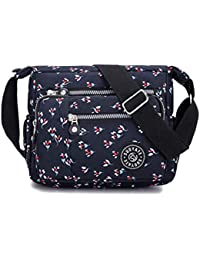 Luckycat Bolso Bandolera Mujer Bolsos de Moda Impermeable Mochilas Bolsas de Viaje Sport Messenger Bag Bolsos