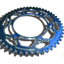 GP de cadenas de Tech Factory Rueda de 49dientes de azul de Yamaha YZ YZF YZ de F 125250450