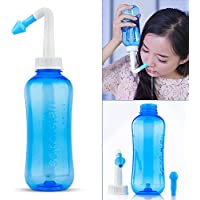 HailiCare 500ml Nasal Rinsing Nose Wash System Neti Pot for Allergic Rhinitis