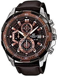Casio Edifice Chronograph Brown Dial Men's Watch - EFR-539L-5AVUDF (EX194)