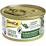 GimCat Superfood ShinyCat Duo Hühnchenfilet mit Zucchini, 24er Pack (24 x 70 g)