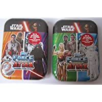 Topps Star Wars Force Attax Tin - Includes Special Limited Edition Card (1 x random shipped) by Force Attax