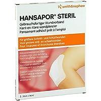 HANSAPOR steril Wundverband 8x10 cm 5 St preisvergleich bei billige-tabletten.eu