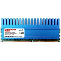 Komputerbay 2GB DDR2 DIMM (240 pin) 1066MHZ PC2-8500 2 GB con Crown Series Spreader calore per il raffreddamento supplementare CL 5-7-7-25