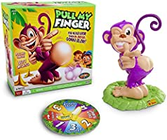Pull My Finger Mr Buster Monkey GamePop a Zit and Game