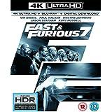 Fast & Furious 7 (4K UHD Blu-ray + Blu-ray+ Digital Download) [2015] UK-Import, Sprache-Deutsch, Englisch...
