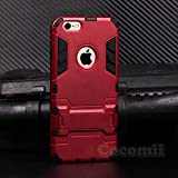 iPhone 6S / 6 Case, Cocomii Iron Man Armor NEW [Heavy Duty] Premium Tactical Grip Kickstand Shockproof Hard Bumper Shell [Military Defender] Full Body Dual Layer Rugged Cover Apple (Red)