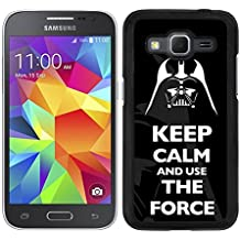 FUNDA CARCASA PARA SAMSUNG GALAXY CORE PRIME DARTH VADER 8 BORDE NEGRO - D4