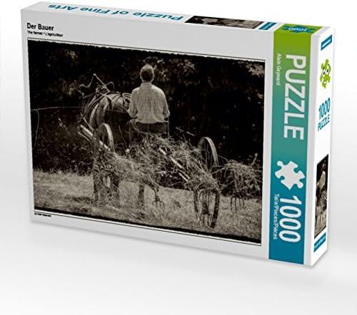 CALVENDO Puzzle Der Bauer 1000 Teile Lege-Grösse 64 x x x 48 cm Foto-Puzzle Bild Von Gaymard Alain | Divers Les Types Et Les Styles  9a12f1