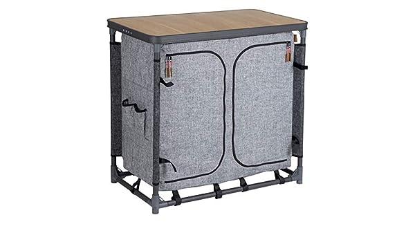 Windschutz faltbar Campingküche Reiseküche NEU Vorzelt-Küche mit Spül-Becken