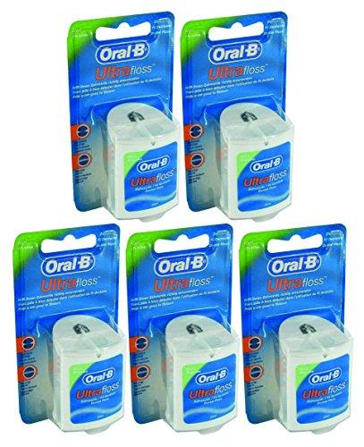 Oral-B Ultrafloss Zahnseide, 25m, 5 Stück (5 x 25m)