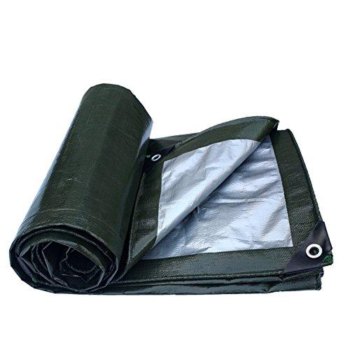 YMXLJF Bâche épaisse, imperméable à l'eau, résistant à l'abrasion, résistant à la déchirure, bâche de camion de bâche de protection solaire - Bâche extérieure (Couleur : A, taille : 3 x 3m)