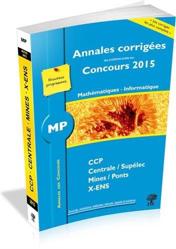 MP Mathématiques Informatique par Guillaume Batog, Julien Dumont, Collectif
