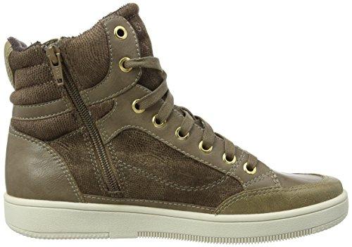 ESPRIT Desire Bootie, Damen Hohe Sneakers Beige (240 taupe)