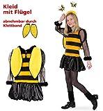 Kinderkostüm / Teenagerkostüm Bienchen mit Flügeln Bienenkostüm Bee (152)