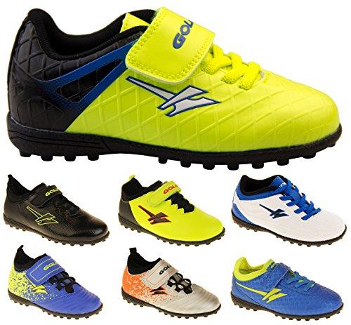 Footwear Studio , Chaussures de football pour garçon Noir noir