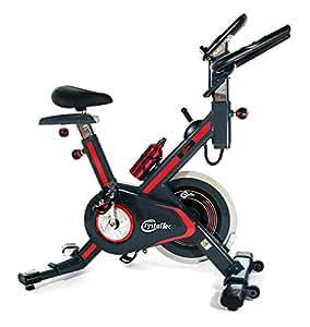 CrystalTec CT101M Vélo d'appartement à résistance magnétique pour entraînement aérobie/fitness/entraînement/cardio