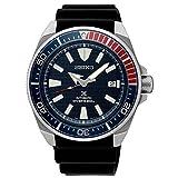 Seiko Herren Analog Automatik Uhr mit Silikon Armband SRPB53K1