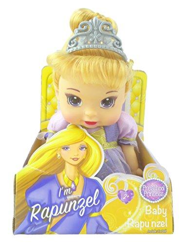 Princesa preescolar Baby Rapunzel Doll - 27cm - Juguetes para niñas