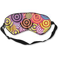 Retro Colorful Circles Sleep Eyes Masks - Comfortable Sleeping Mask Eye Cover For Travelling Night Noon Nap Mediation... preisvergleich bei billige-tabletten.eu