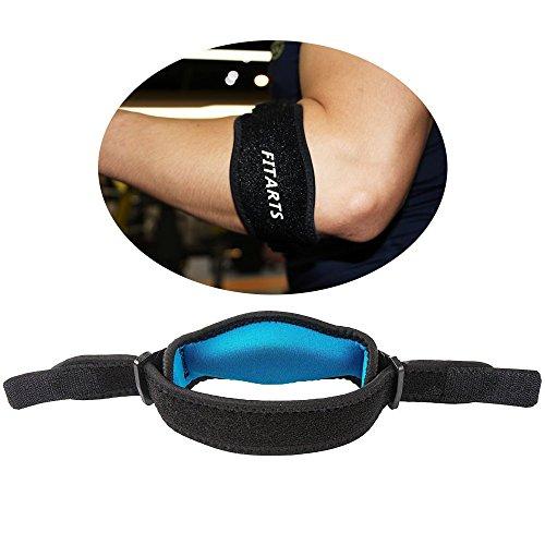 Ellenbogen Hosenträger mit Kompression Pads–Schmerzlinderung & Unterstützung für Golfer's & Tennisarm (ein Paar) von Standard