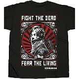 Walking Dead the Daryl Dixon Fight Poster Men's T-Shirt, Camiseta Para Hombre, Negro (Black), X-Large
