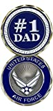 Best Dad Coins - United States Air Force Number 1 Dad Challenge Review