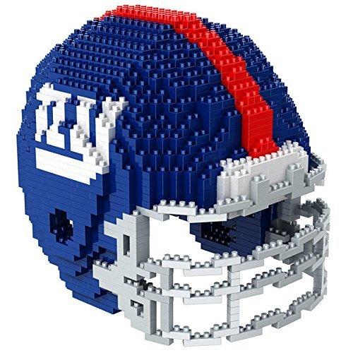 New York NY Giants NFL Football Team 3D BRXLZ Helm Helmet Puzzle