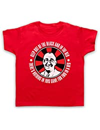 Inspired by Bullseye Jim Bowen Out of Black in The Red Unofficial Kids T-Shirt