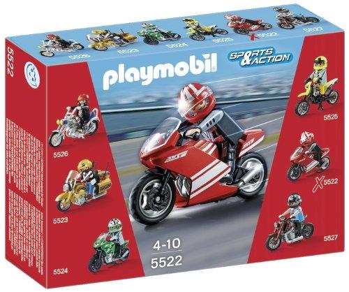 Playmobil 5522 -  Supebike con Centauro