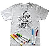 Disney Licenses T-Shirt Zum Anmalen: Minnie Mouse (128-134 cm (7-8 Jahre))