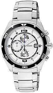 Citizen Analog White Dial Men's Watch AN3440-53A