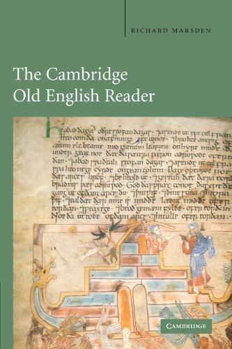 The Cambridge Old English Reader by Richard Marsden (2011-10-26)