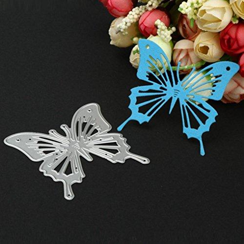 DIY Formen Schmetterling Schablone, Metall Prägung siconght sterben für Scrapbook Album Papier Craft Decor Karte machen silber