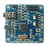 Meisijia 12.228Mhz Oscillatori VS1003 MP3 Modulo Decodifica audio con il microfono capo alimentazione Spia
