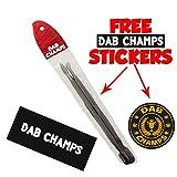 Dab Champs: 2 x Titanium Dabber Tools [Top Quality ]
