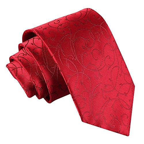 Cravate à volutes pour homme