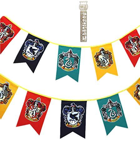 TPOTTER 12pcs[20X12CM] cumpleaños Banners Banderas