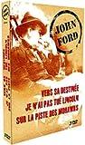 Coffret John Ford 3 DVD : Vers sa destinée / Sur la piste des Mohawks / Je nai pas tué Lincoln [FR Import]