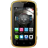 EL W5 4G LTE Android 6.0 Waterproof Mobile Phone With 1.0GHz Quad-core, 5 MP Camera And 4.0-inch Screen (Black+Yellow)