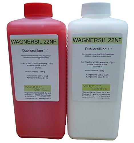 Wagnersil 22 NF Premium Silikon Kautschuk Dubliersilikon (weich) 1 kg