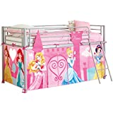 Disney Princess Hello Home Mid Sleeper Dress It Up Tienda para litera, color rosa