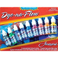 Jacquard Products Dye-Na-Flow Exciter Pack 0.5 oz (Pack of 9)