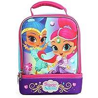 """Preisvergleich für Nickelodeon Shimmer and Shine""""Pink Jewels"""", isoliert, mit 2 Fächern, mit Griff, Maße (B x H x T): 19 x 23 x 13 cm"""